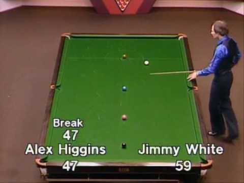 La magica serie da 69 di Alex Higgins al Crucible
