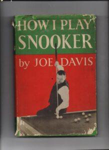 How I play snooker Joe Davis