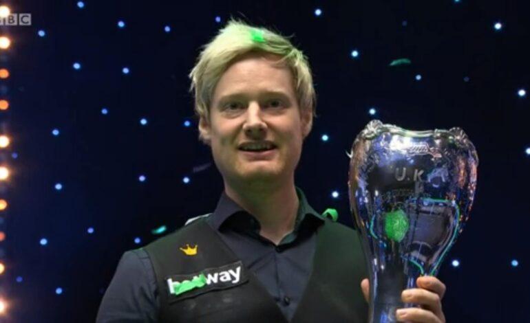 Neil Robertson vince lo Uk Championship