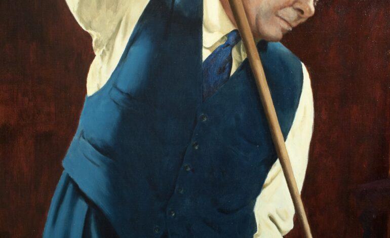 Joe Davis, il primo centone della storia dello snooker in tv