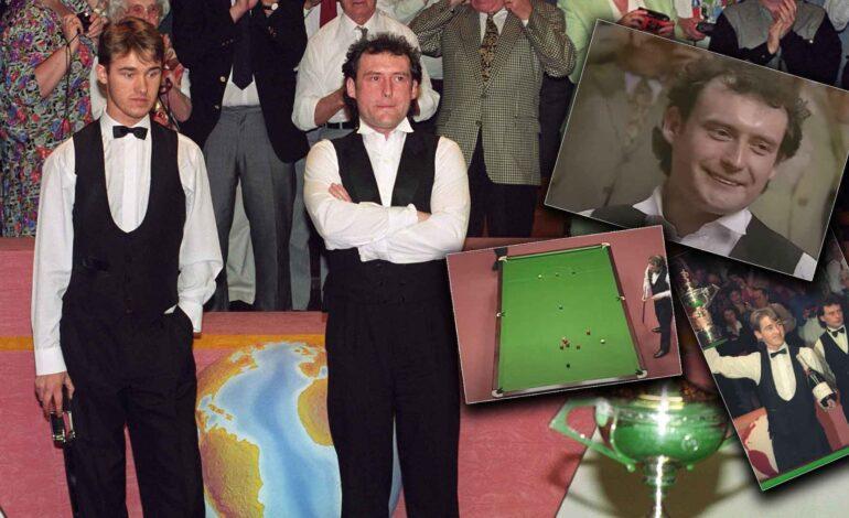 Hendry/White, la finale-emblema al Crucible nel 1994