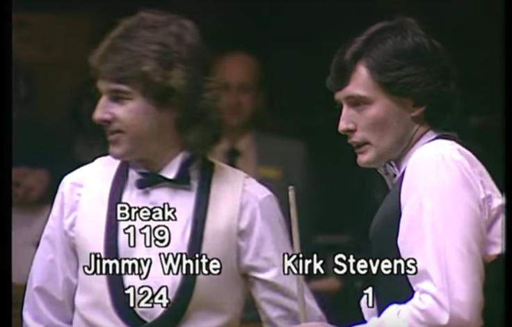 Kirk Stevens Jimmy White